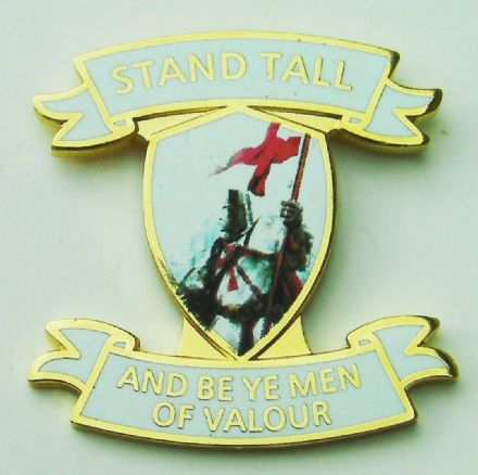 "England Badge ""Men of Valour"""